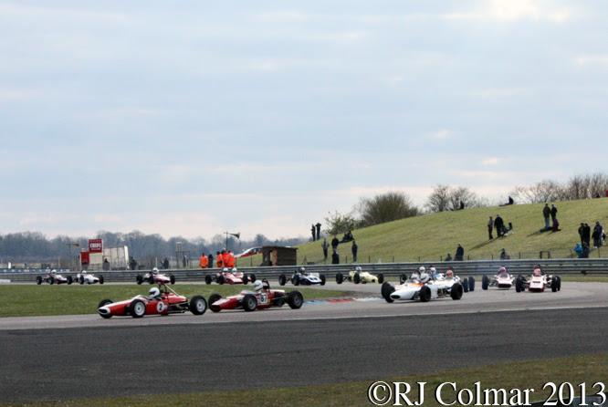 HSCC Historic Formula Ford Race, Thruxton Easter Revival
