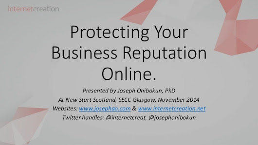 Protecting Your Business Reputation Online