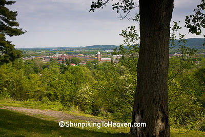 View of Chillicothe from Grandview Cemetery, Chillicothe, Ohio