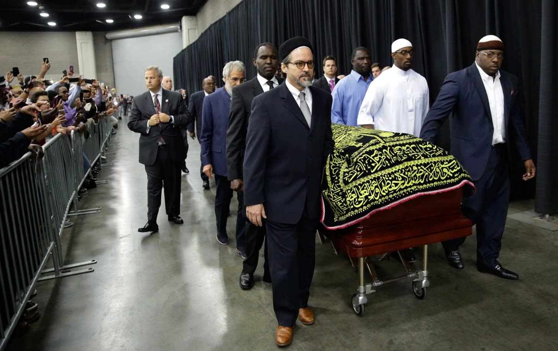 Muhammad Ali service