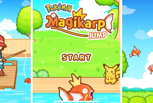 Pokémon's 'Magikarp Jump' Mobile Game Is Thoroughly Bizarre, But Weirdly Addicting
