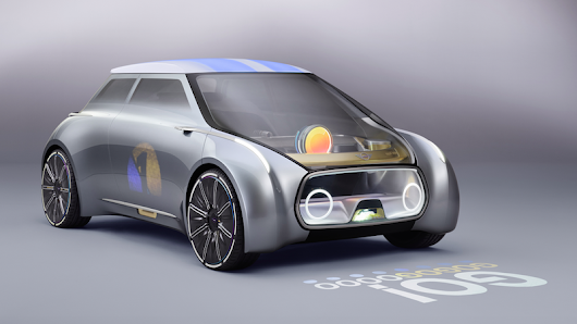 The Mini Vision Next 100 Concept Makes The Future Of Car-Sharing Seem Kind Of OK