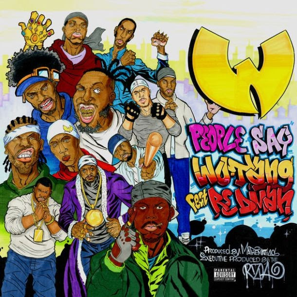 Wutang Clan Ft. Redman - People Say (Cd Quality)
