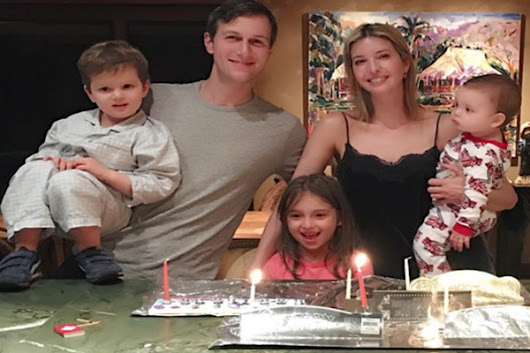 Ivanka Trump celebrates Hanukkah Christmas in Hawaii