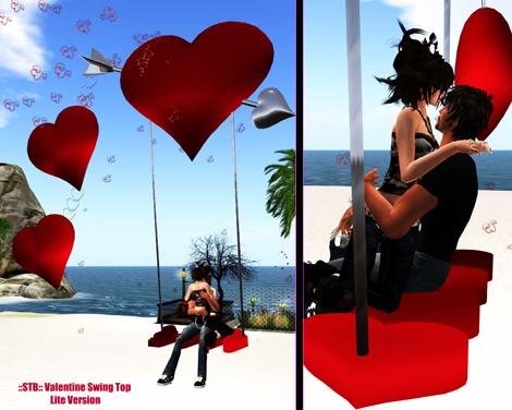::STB:: Valentine Swing Top - Lite
