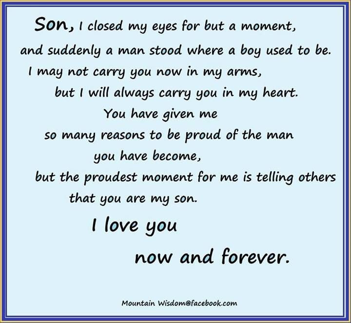 Quotes About Son Leave Mother 20 Quotes