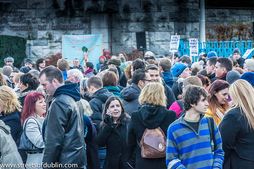 About Ten Thousand People Attended A Rally In Dublin In Memory Of Savita Halappanavar by infomatique