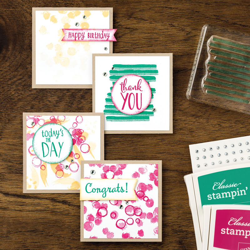 Playful Backgrounds Photopolymer Stamp Set