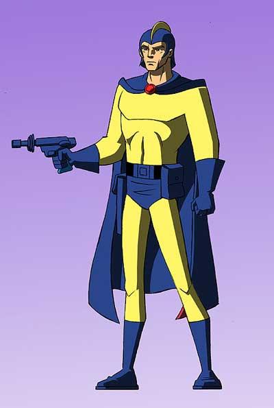 Blue Bolt Yellow