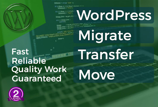 webtechshouse : I will transfer, migrate, move wordpress website for $5 on www.fiverr.com