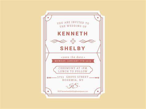 Unique Wedding Invitation Card Vector   Download Free