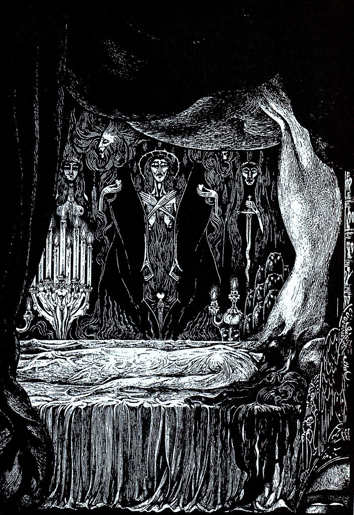 Alberto Martini - Edgar Allan Poe Illustration 9