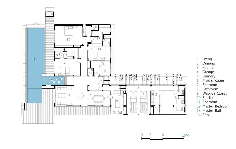 planos de casas 500m2