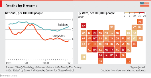 In graphics: America's guns: To keep and bear arms | The Economist