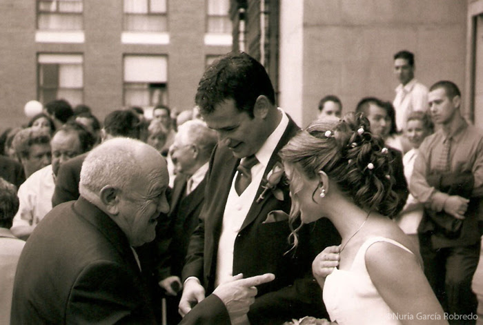 Mi boda. Esta foto es preciosa....