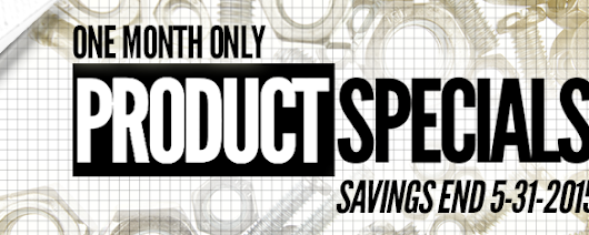 This month only - Save on our new line of industrial strength cleaning products!