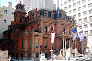 The Union League building on S. Broad St. in C...