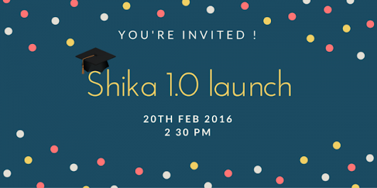 Shika 1.0. is coming. Last 3 days to go!