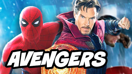 Avengers Infinity War Spider Man Doctor Strange Marvel Timeline Explained - YouTube