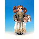 Legacy Fine Gifts & Judaica 284 Ellis Island Doll - Sadie