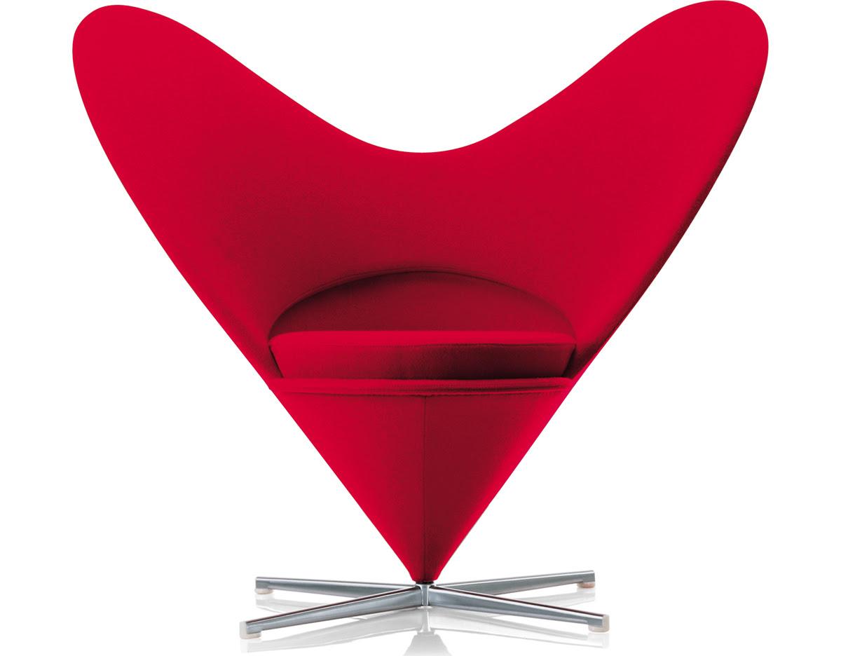 panton heart chair verner panton vitra 1