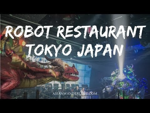 ROBOT RESTAURANT TOKYO – A MUST-TRY ATTRACTION IN SHINJUKU JAPAN!