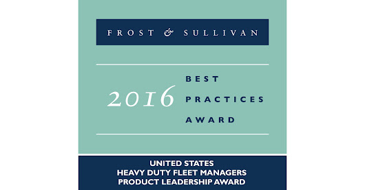 Frost & Sullivan Commends Freightliner for Product Leadership, as Identified by Truck Owners in the