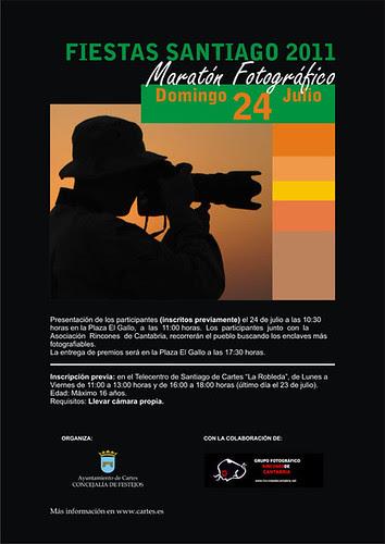 Maratón Fotográfico Infantil Fiestas de Santiago 2011 - Cartes