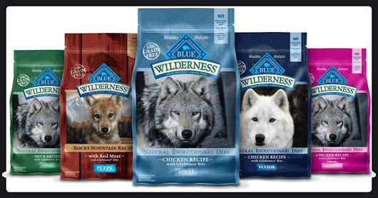 Win $100 Of Blue Buffalo Dog Food! - SIGN UP HERE -