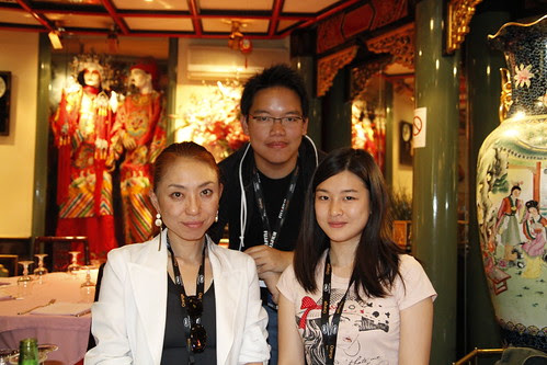Kobayashi-sensei, me and Fooi Mun