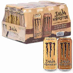 Monster Energy Coffee, Java Variety Pack- 15 oz. cans, 12 ct