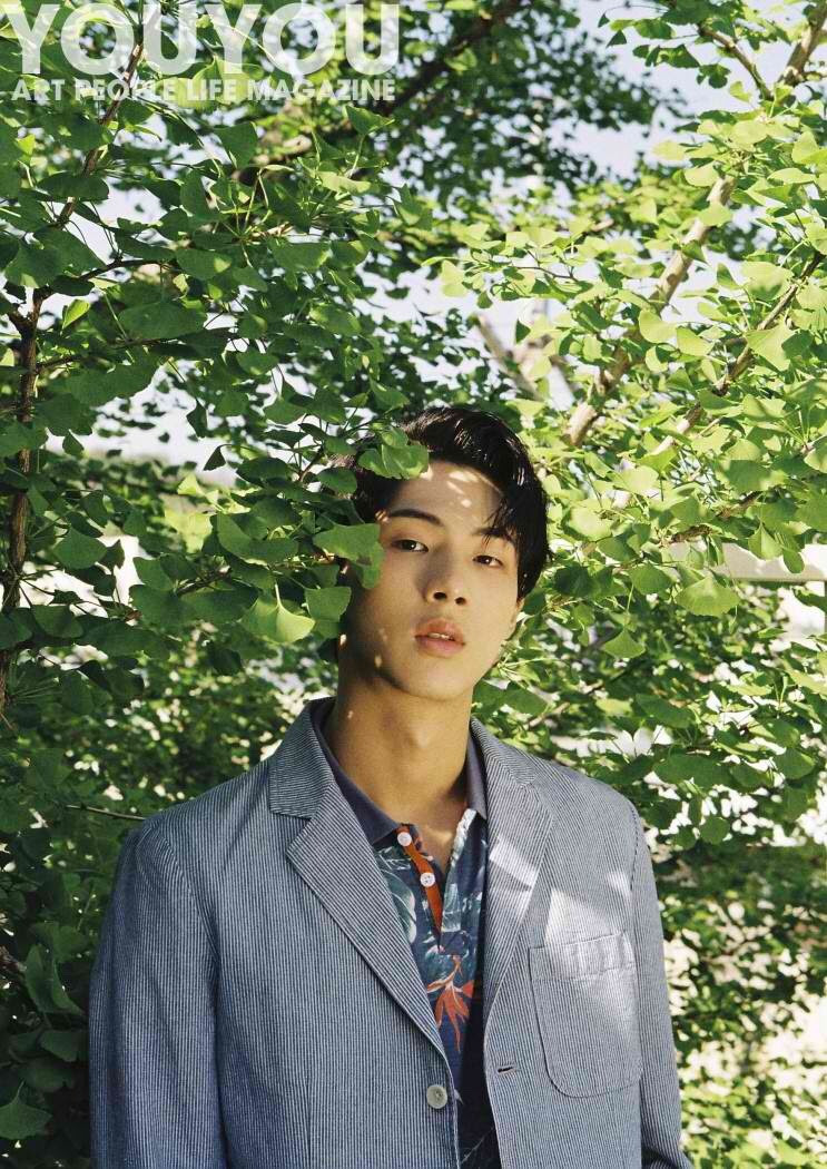 Ji Soo for YouYou Magazine Vol. 01. Photographed by Cha Young Min