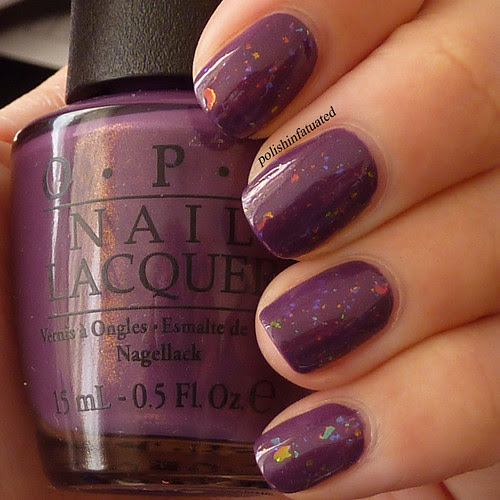 dutch ya just love opi layered with speck-tacular3