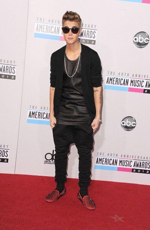 40th American Music Awards - November 18, 2012, Justin Bieber