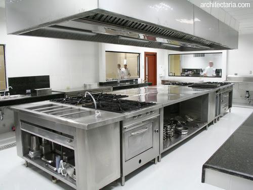 Desain Dapur Stainless Buat Restoran 2
