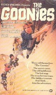 book cover of   The Goonies