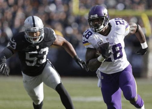Should the Oakland Raiders go for Adrian Peterson?