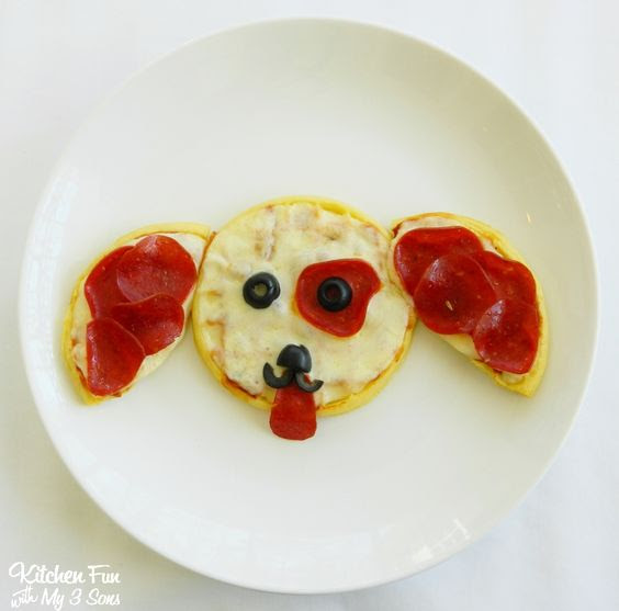 puppy pizza dog snack for kids