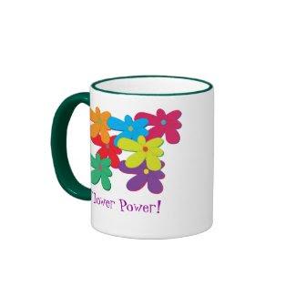 Flower Power Mug mug