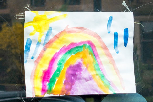 Coronavirus pandemic: Why kids are putting rainbow pictures in their windows