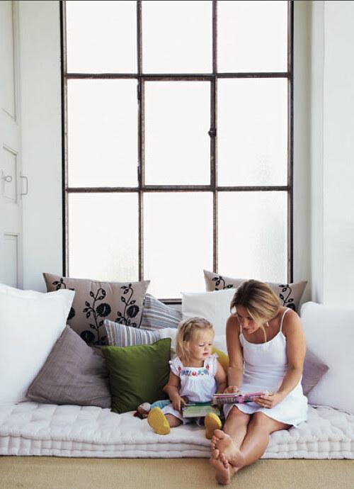 Ikea, UK, family, white, window, home ideas, pillows, reading, playtime, kids, interior design, homedecor