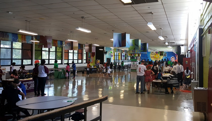 Latinos For Tennessee Holds Health Fair At Memphis Middle School