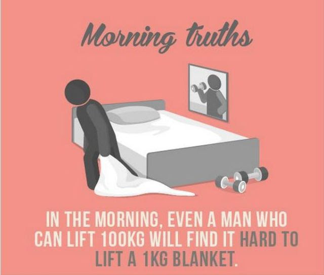The Sad But True Facts about Mornings
