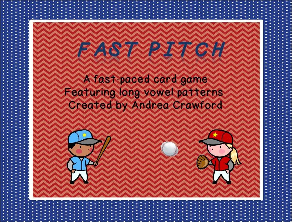 http://www.teacherspayteachers.com/Product/Fast-Pitch-A-Fast-Paced-Long-Vowel-Patterns-Game-676928