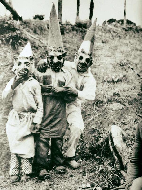 Captured From The Past : A 100-year-old Halloween