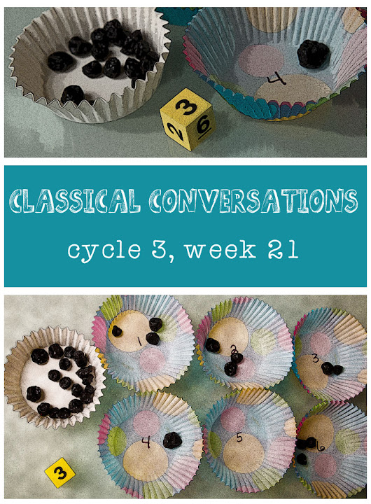 Classical Conversations Cycle 3 Week 21 Events - My Favorite Kind of Crazy