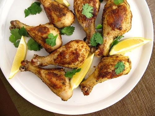 roasted fenugreek chicken