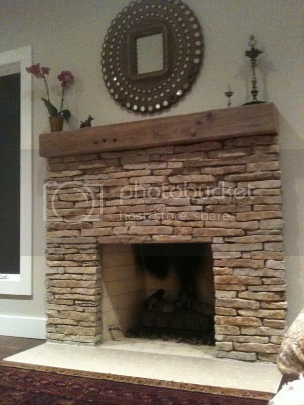 Stone veneer fireplace - love them, hate them, indifferent? - Home ...