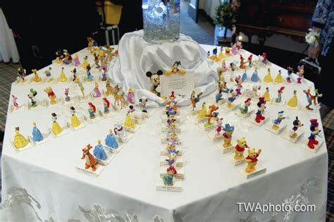 Have the wedding guest match their Disney character to the