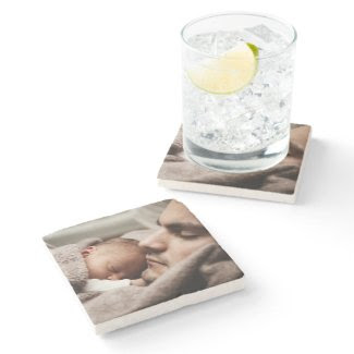Personalized Create Your Own Custom Stone Coaster